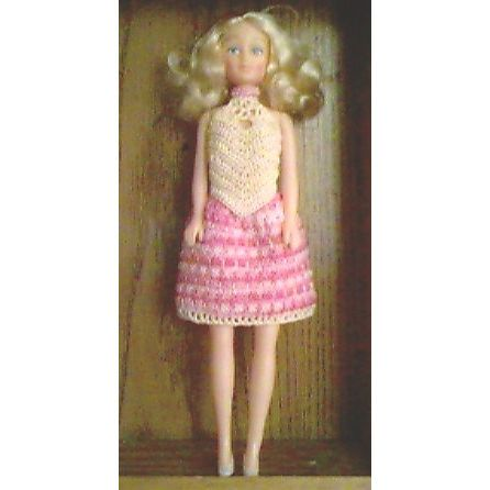 Fashion Doll Easter Party Outfit - A free Crochet pattern from Julie ...