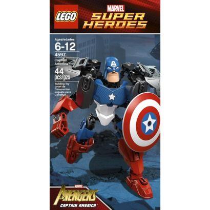 LEGO Super Heroes Captain America 4597   Evan