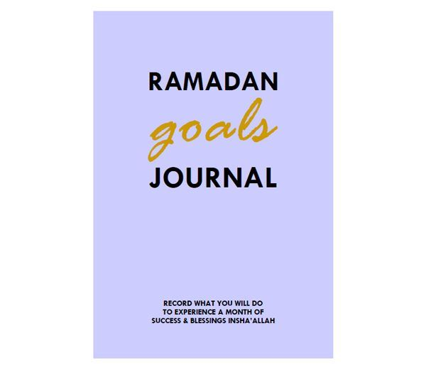 { Stylish & purposeful printables from The Kareem Collection } Record all your intentions & goals to have your most successful Ramadan yet. #tkclove #lifegoals #ramadan #printables