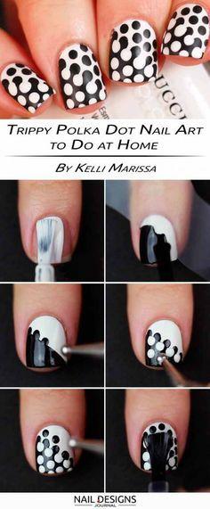 15 Step By Step Tutorials How To Do Nail Designs At Home Dot Nail