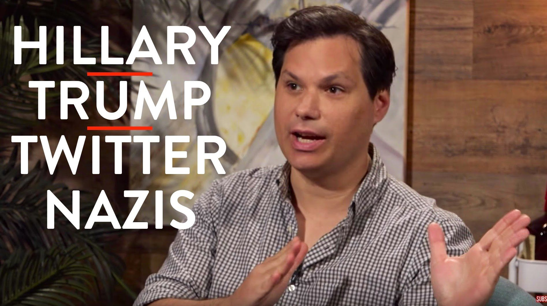 Watched 2016.07.21 | Michael Ian Black on Hillary vs Trump and Twitter Nazis (Part 1)
