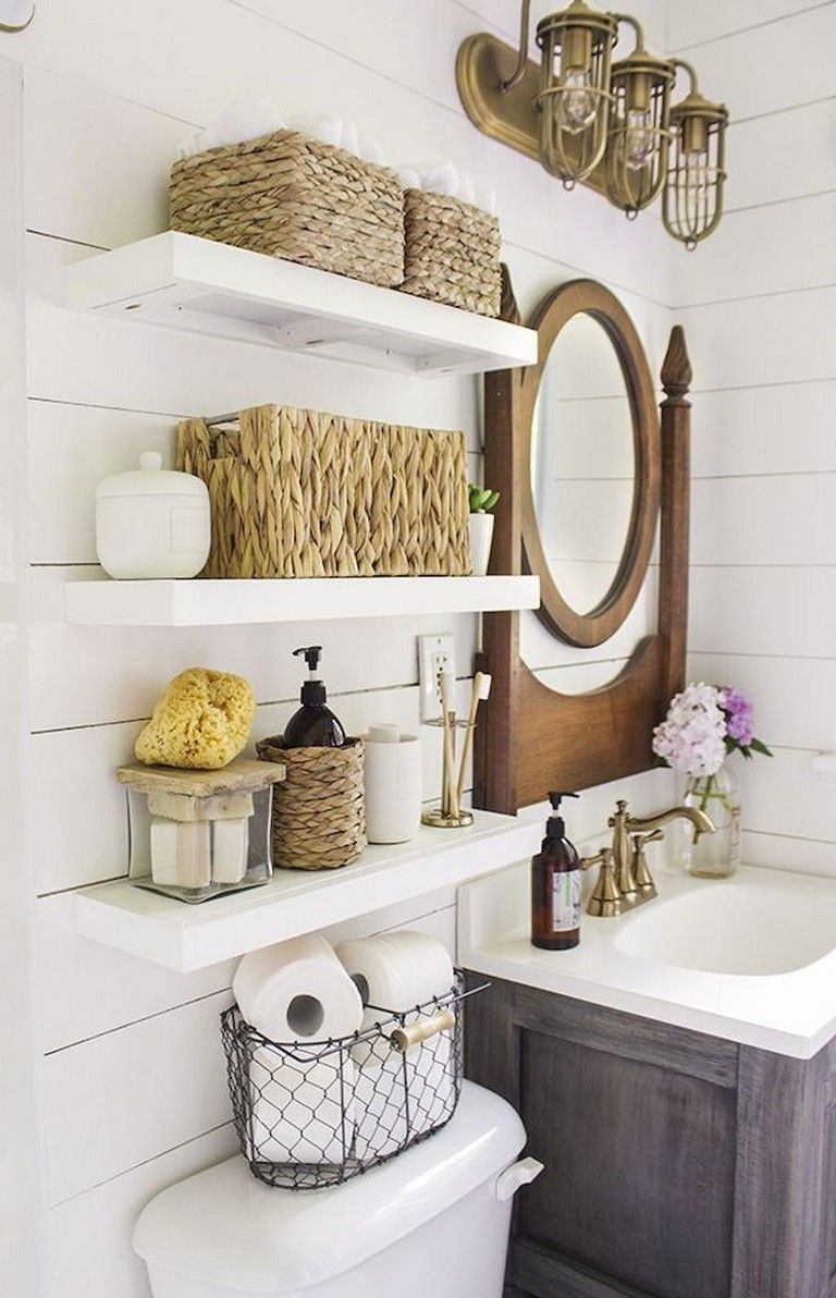 59 Gorgeous Coastal Beach Bathroom Decoration Ideas Small Bathroom Decor Beach Bathroom Decor Bathrooms Remodel