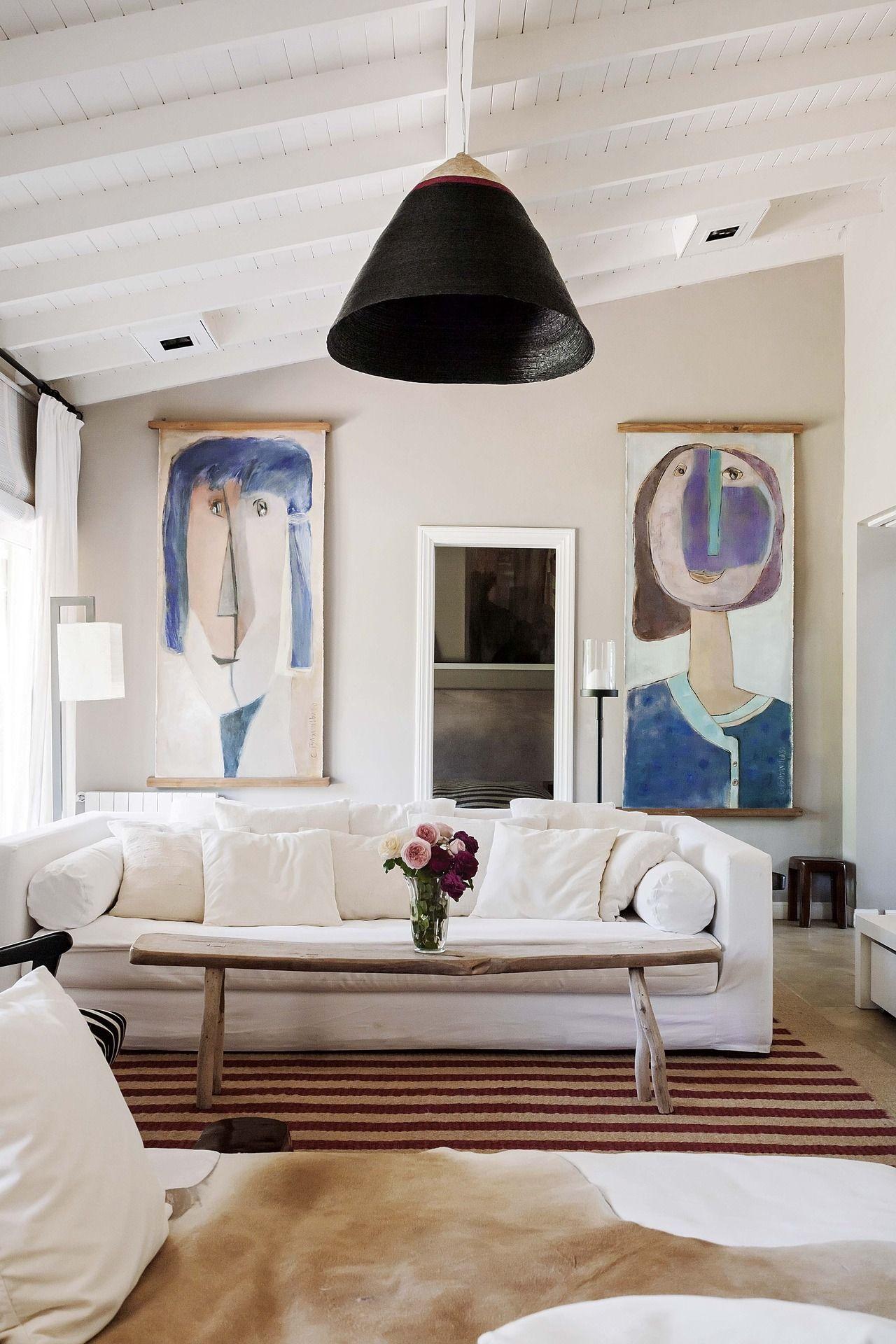 Una Casa Con Un Jardin Espectacular Casa Pinterest Madera - Techos-rusticos-interiores