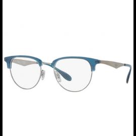 38e1be92a78 Ray Ban Full Rim Eyeglasses RB6396 – Gunmetal Frame   Clear Lens ...