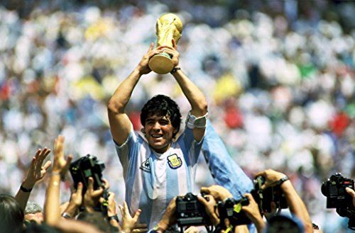 Maradona Fabric Cloth Rolled Wall Poster Print Size 36 X 24 20 X 13 Read More Reviews Of The Product By Visiting The Link On Diego Maradona World Cup Diego