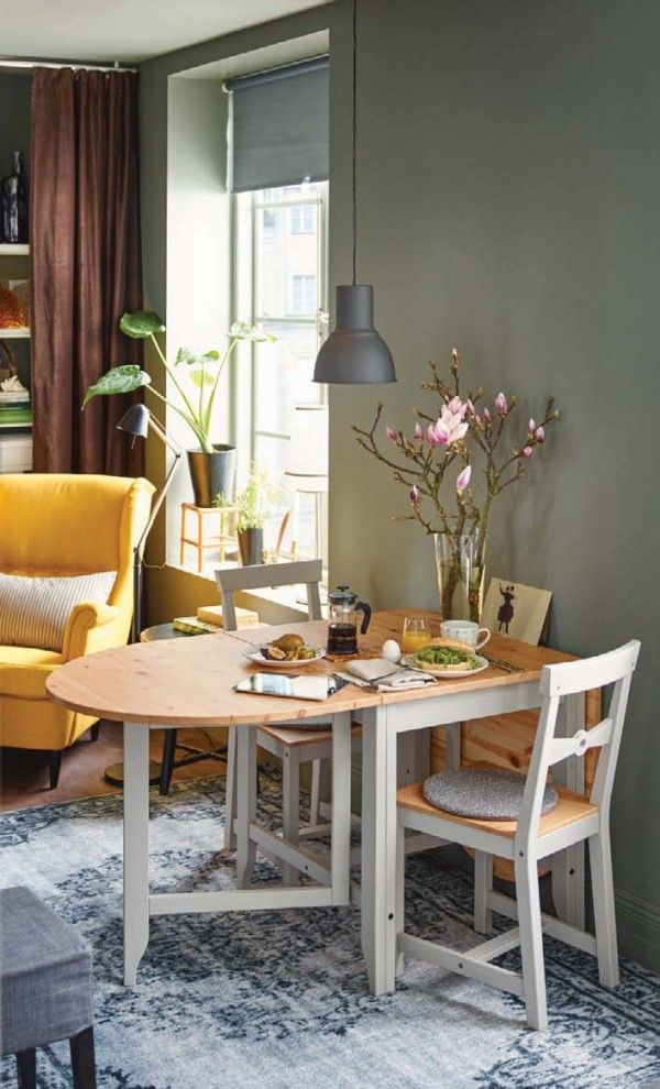 Sage Green Dining Room  Ikea 2016 Catalog  Home  Pinterest Gorgeous Small Dining Room Sets Ikea Inspiration Design