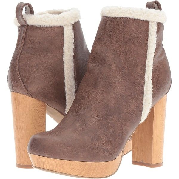 bc6c4fa61ce C Label Natori-2 (Camel) Women's Boots ($35) ❤ liked on Polyvore ...