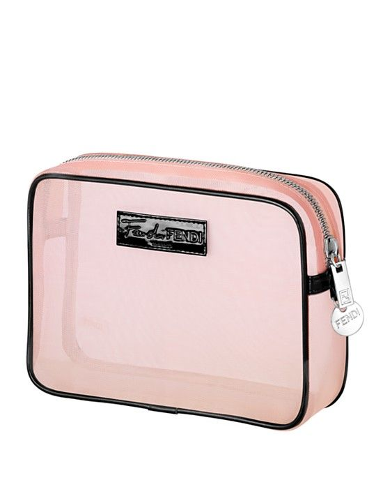 887b8e9d71 Fan di Fendi GWP Pink cosmetics mesh pouch with any Fendi Fan di Fendi  Blossom large spray purchase. Available now. Via bloomingdales