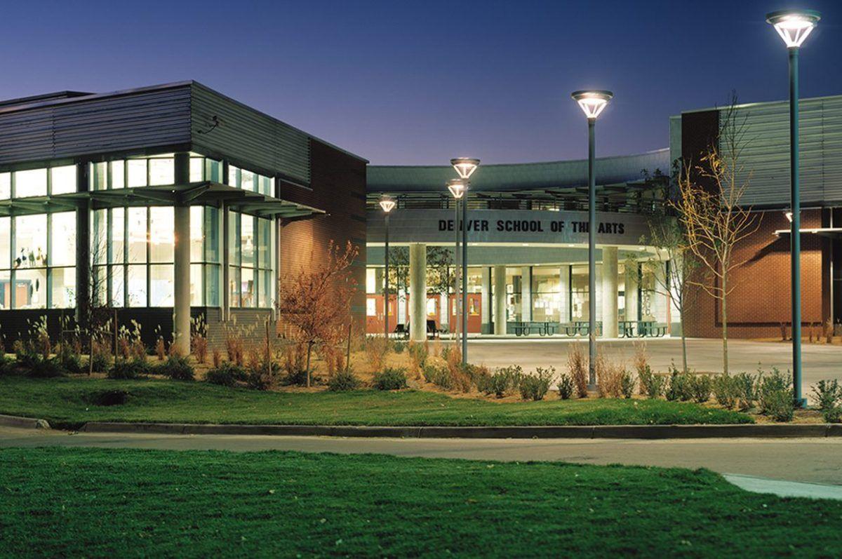 Denver school of the arts semple brown design public