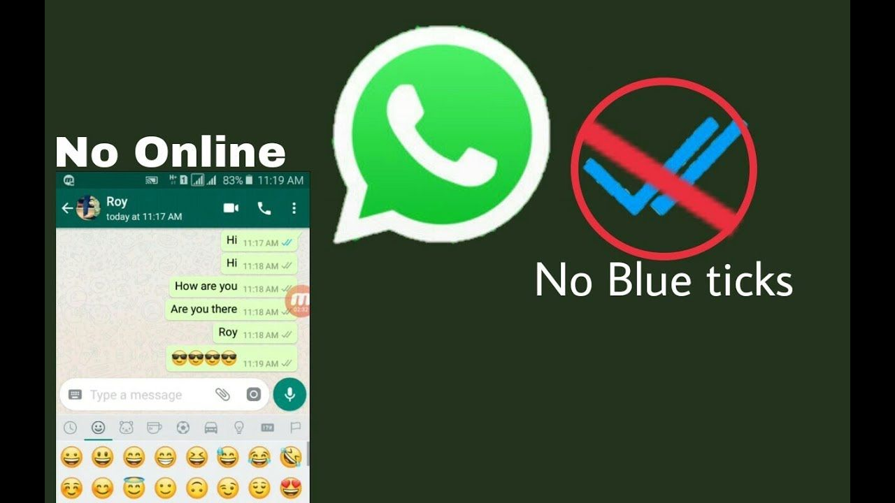 How to read whatsapp messages without double blue tick