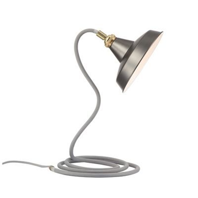 Home collection maxwell grey metal table light debenhams home collection maxwell grey metal table light debenhams aloadofball Choice Image