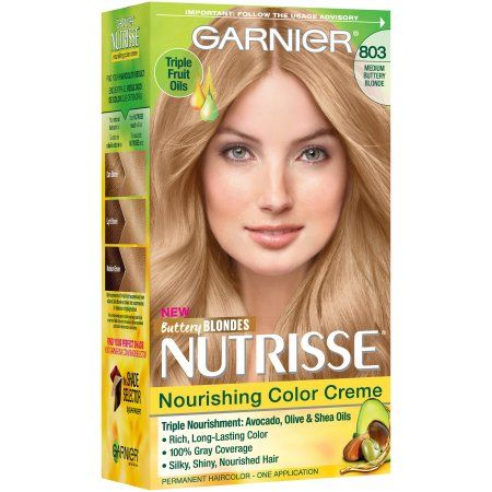 Garnier Nutrisse Nourishing Color Creme Hair Color 83 Medium