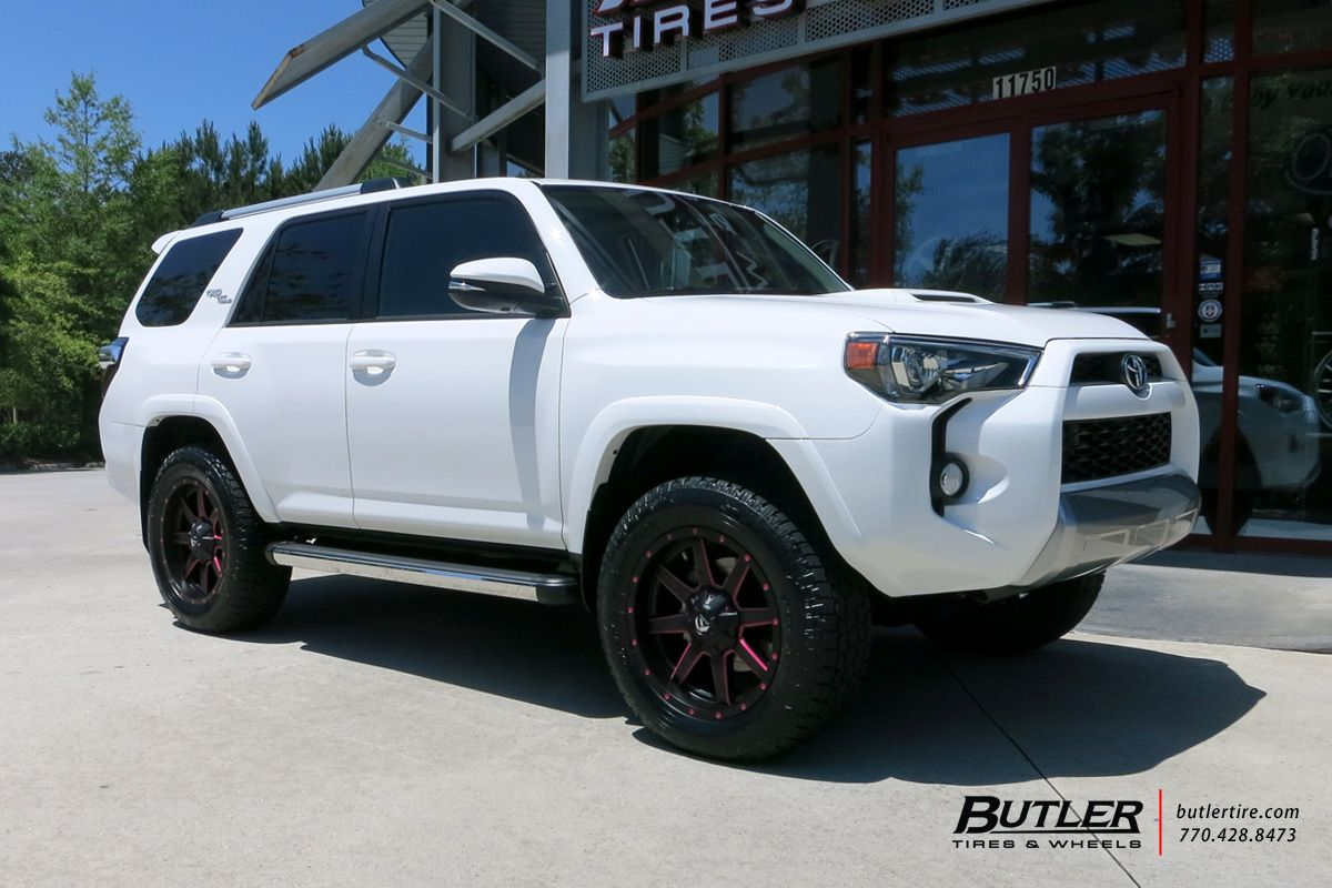Toyota 4Runner with 20in Fuel Maverick Wheels Butler