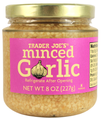 Chopped, pressed, sliced, crushed, roasted, minced. So many ways to prepare garlic, so little time. Well, time is on your side as Trader Joe's Minced Garlic fulfills all of your minced...