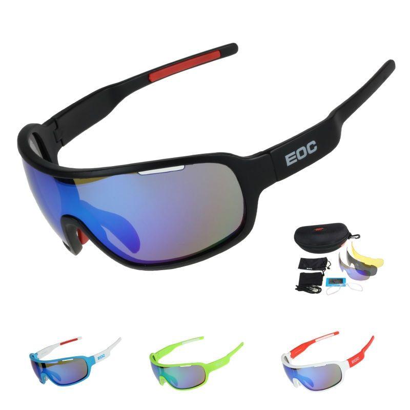 COMAXSUN Polarized Cycling Glasses Bike Riding Protection Goggles Driving  Fishing Outdoor Sports Sunglasses UV 400 3 Lens 8aa7079c0653
