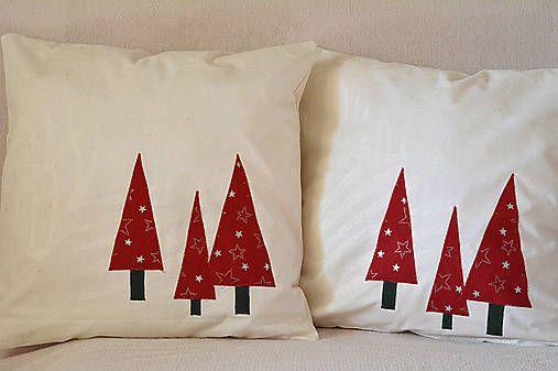 klaura / Návliečka na vankúš s vianočným motívom