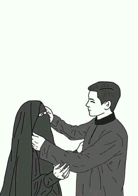 Baru 30++ Gambar Kartun Muslimah Dengan Pasangan - Gambar ...