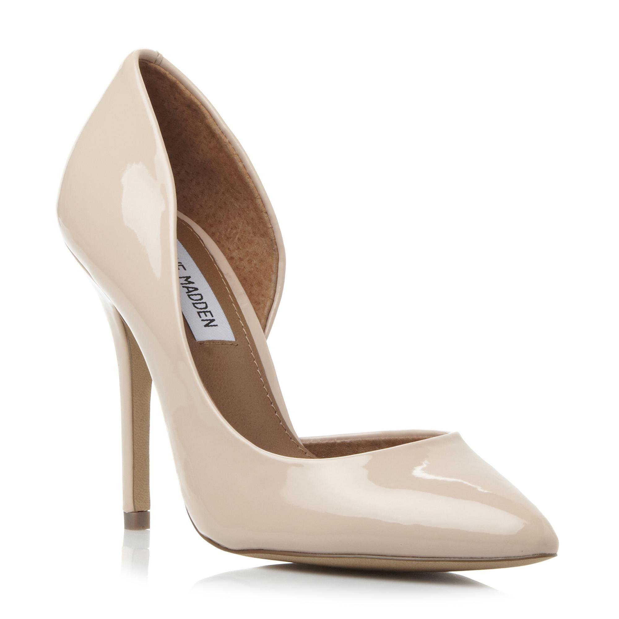 64da119450f STEVE MADDEN GAYYLE SM - Semi D'Orsay High Heeled Court Shoe - nude ...