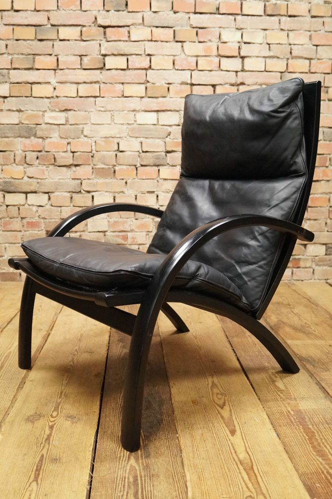 60s Retro Nice Easy Chair Danish Leather Armchair Fauteuil Westnofa Era Vintage In Antiques Antique Furniture Chairs Ebay Stol