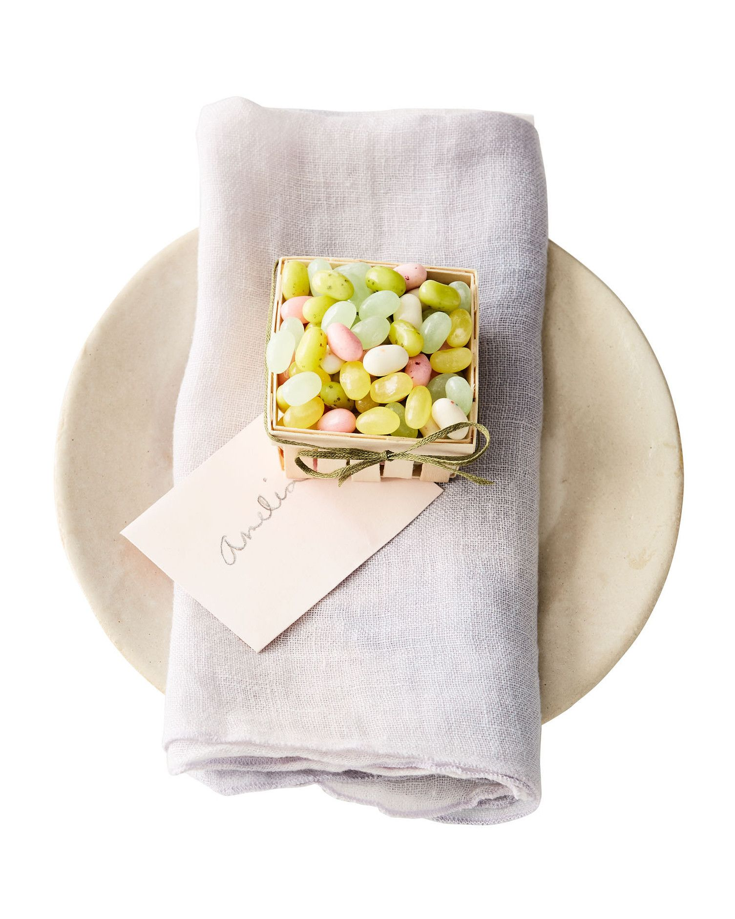 Miniature easter candy basket easter candy berry baskets and easter miniature easter candy basket martha stewart a tisket a tasket a mini berry basket put one at each seat with a name tag to take care of your dcor negle Choice Image