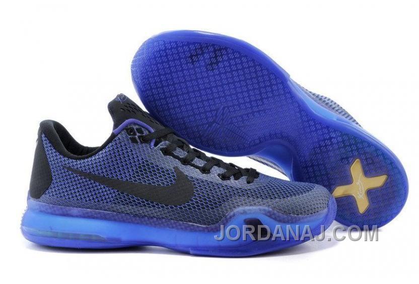 Mens NK Kobe 10 X Elite Low Basketball Shoes Purple New