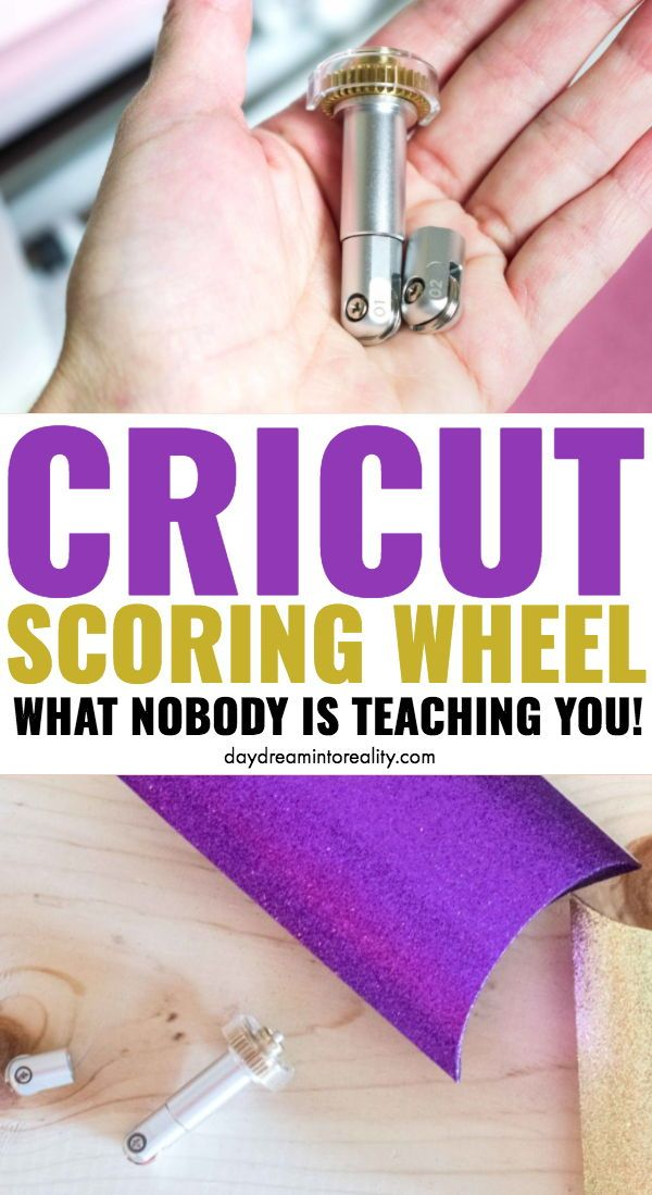 How to use the Cricut Scoring Wheel | Scoring Wheel Not Detected