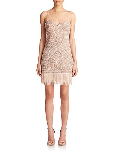 Beaded Cocktail Dress $265.74 AT vintagedancer.com