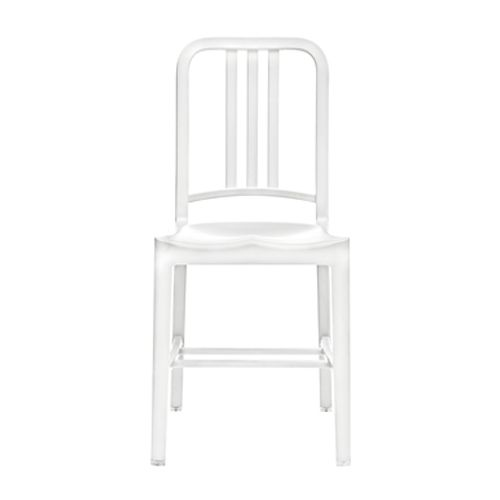 the classic Navy Chairs are very durable and fairly timeless  111 Navy Chairs & Emeco 111 Navy Chairs | YLiving $270
