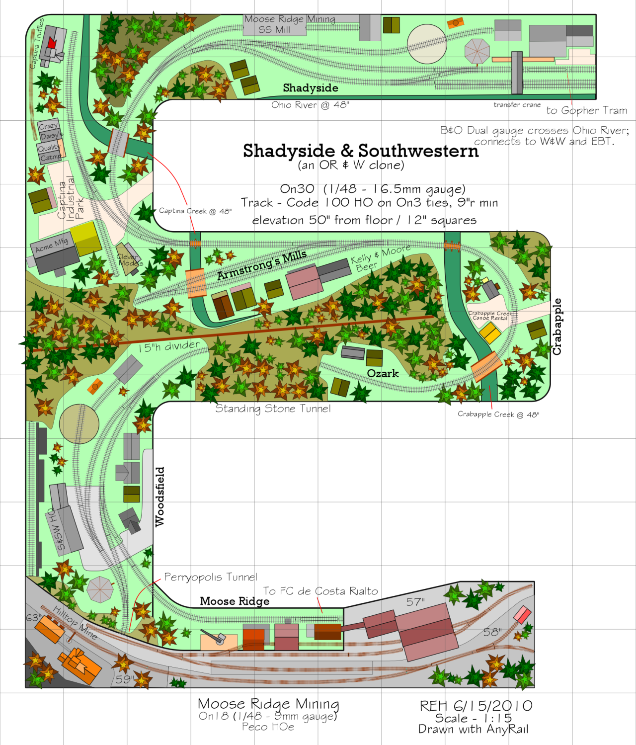 AnyRail™ - The easiest model railroad design software ...