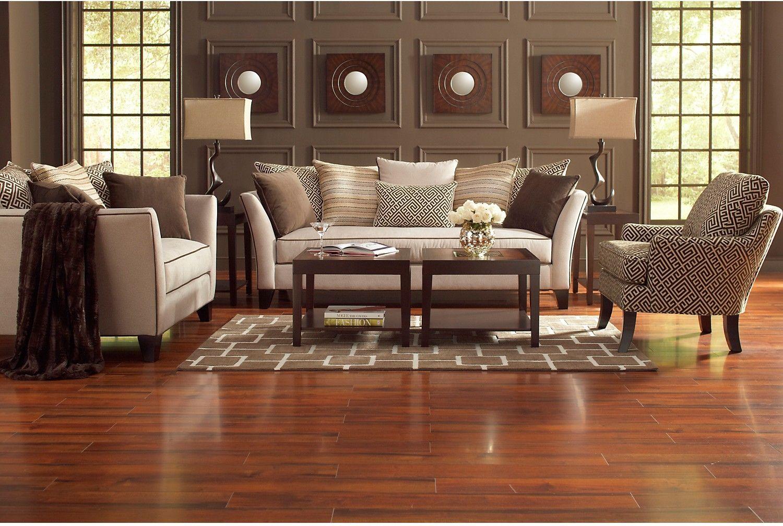 living the beige brick set room livings microfibre vergara santorini pin collection sofia sofa