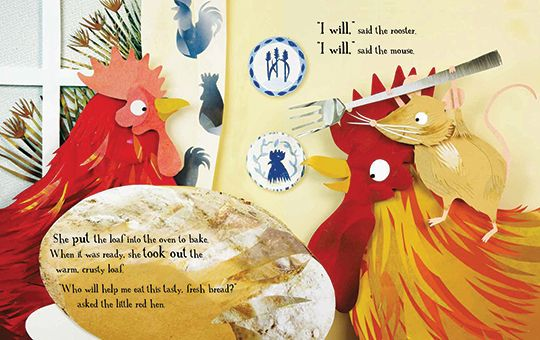The Little Red Hen (with Story CD)