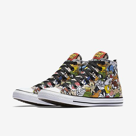 hot sale online 9e026 6562d Converse Chuck Taylor All Star Looney Tunes High Top Unisex Shoe