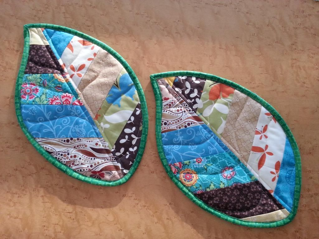 You Have To See Leaf Potholders On Craftsy