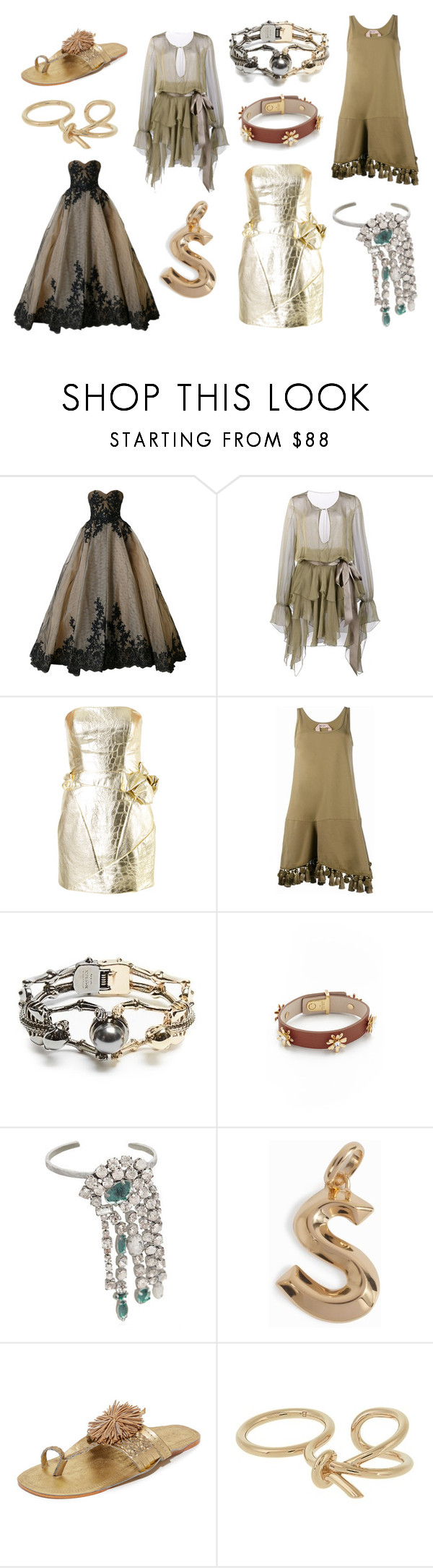 """""""Traditional Style"""" by donna-wang1 ❤ liked on Polyvore featuring Mikael D, Alexandre Vauthier, Rubin Singer, N°21, Alexander McQueen, Kate Spade, Maison Margiela, Monica Vinader, Figue and Balenciaga"""