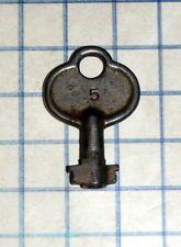 Antique Vtg Old 6 8 Lever Padlock No 5 Skeleton Key Barrel Lock Steel Iron Chest Old Keys Skeleton Key Lock Antique Keys