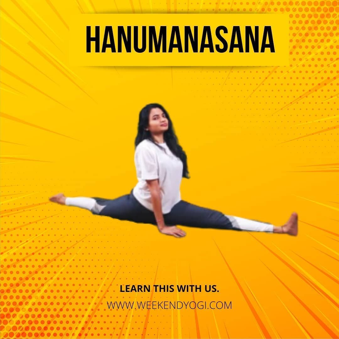 Hanumanasana Sanskrit