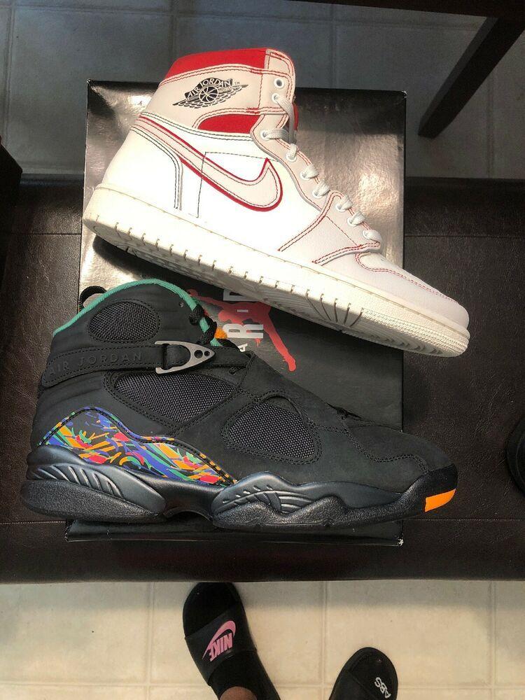 best website c435f ae25b eBay Sponsored) Nike Air Jordan 8 Retro Sz 9.5 Tinker Raid ...