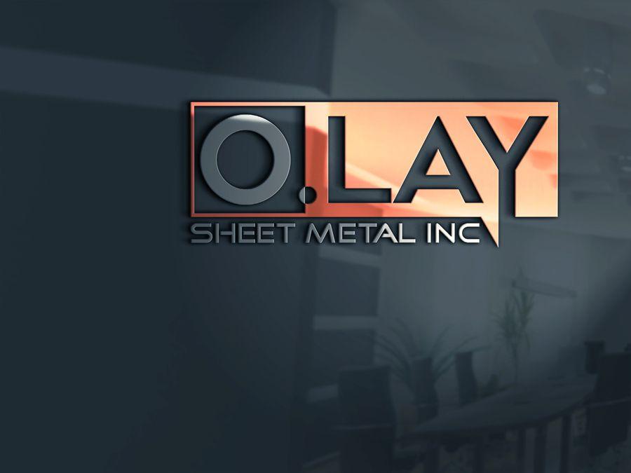 Branding O Lay Sheet Metal Need Logo Design Bold Economical Logo Design By Magictool888 Bold Logo Design Logo Design Company Logo Design