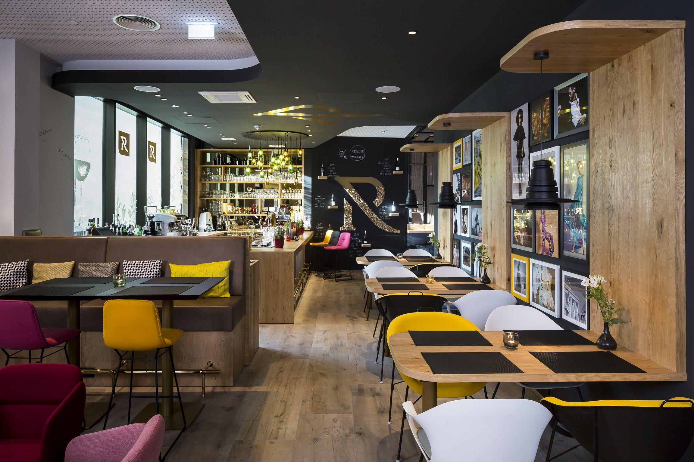 Restaurant Bar Hotel Mercure Wittenbergplatz Berlin Design by Kitzig Interior Design