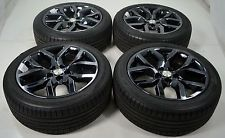 19 Chevrolet Malibu Black Chrome Wheels Rims Tires Factory Oem