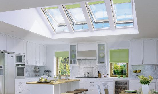 Skylights For Vaulted Ceilings Interior Design