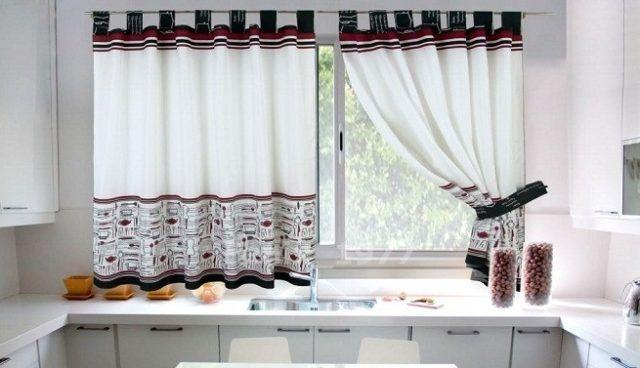 Más de 100 Fotos de Cortinas de Cocina Modernas Cortinas - cortinas para cocina modernas