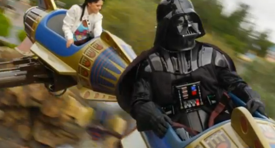 """""""Hmmmm. The force is strong with that - ride operator."""""""