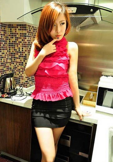 #FASHION WOMEN # Fashion Wave Mode A-line Short Skirt Black] http://www.clothing-dropship.com/fashion-wave-mode-a-line-short-skirt-black-g1250273.html