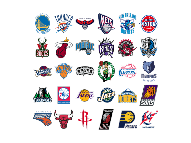 The History Of Your Favorite Sport Team S Name Nba Western Conference Nba Western Conference All Nba Teams Nba