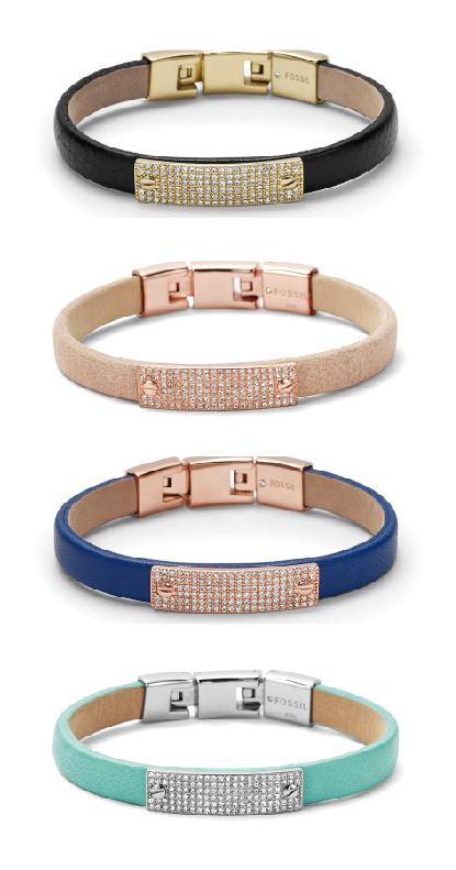#Fossil Pavé Bracelet #colorcurious