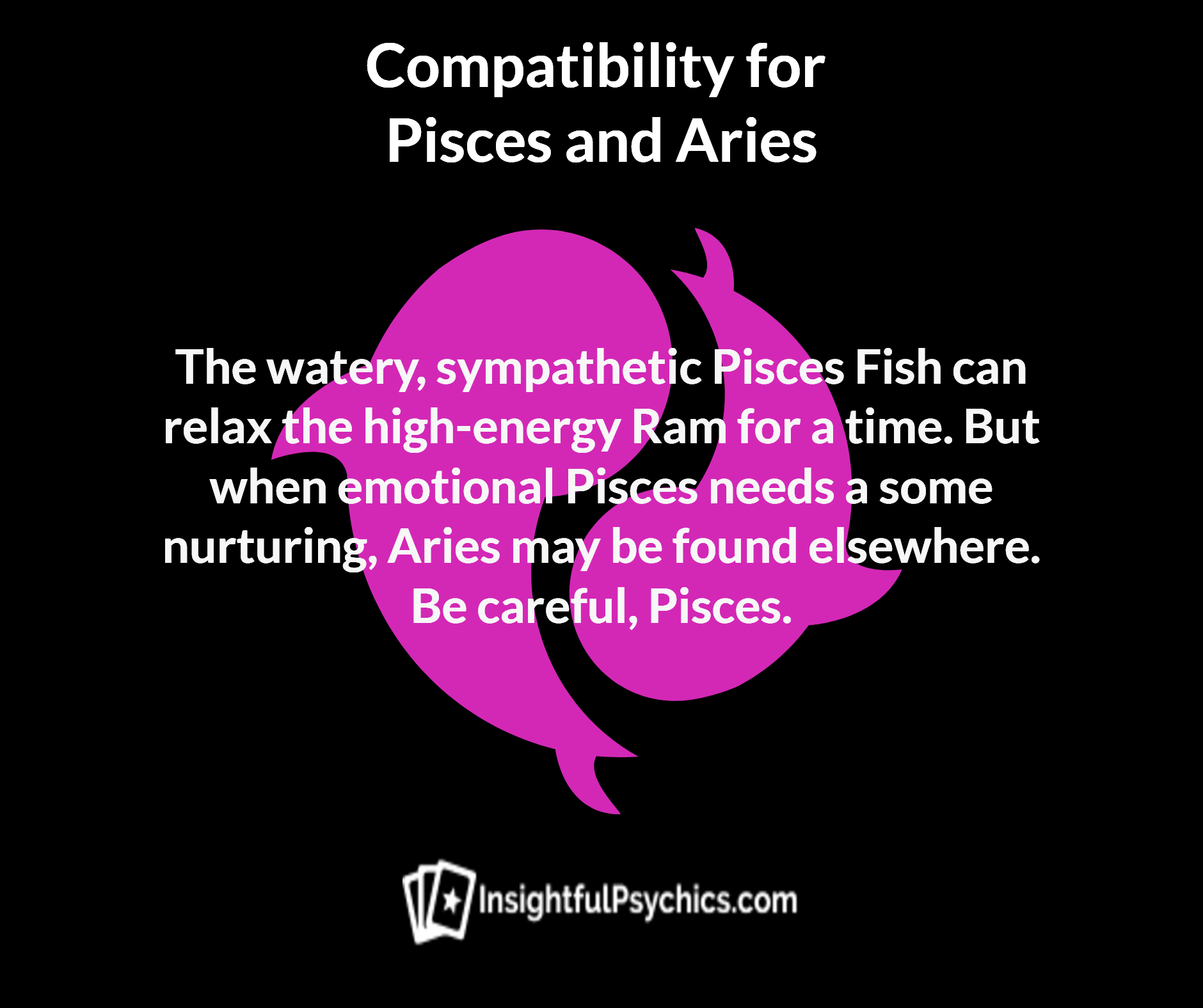 Relationship between pisces and aries