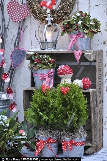 Balkon Im Winter 3 Holz Deko Ideen Weihnachten Winter