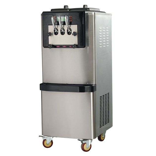 56 60l H Vertical Ice Cream Machine Dual System Soft Ice Cream