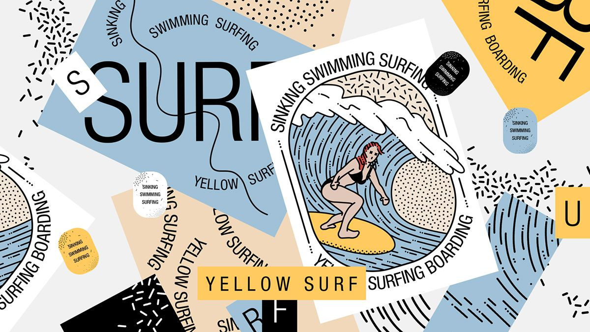 Yellow Surf on Behance